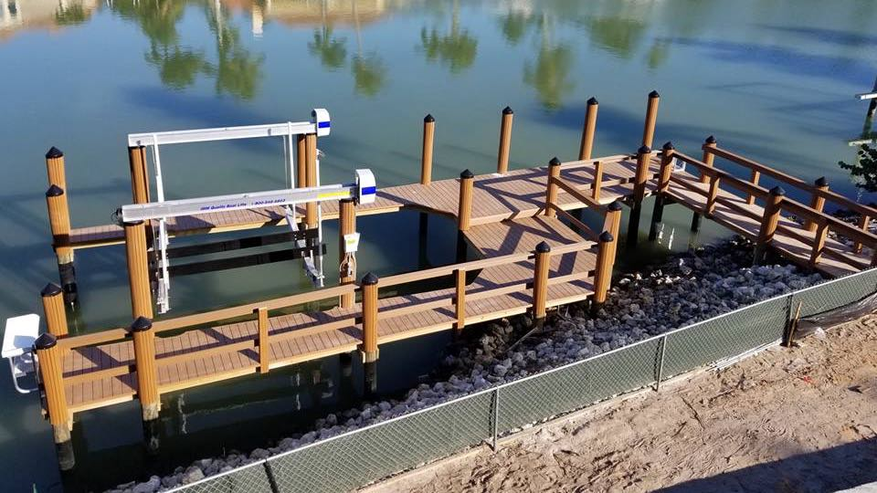 Walk around dock with Quality/Imm boat lift